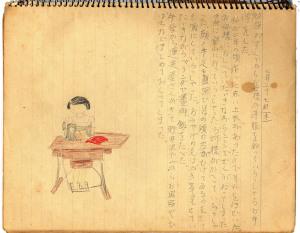 昭和14年7月27日の絵日記